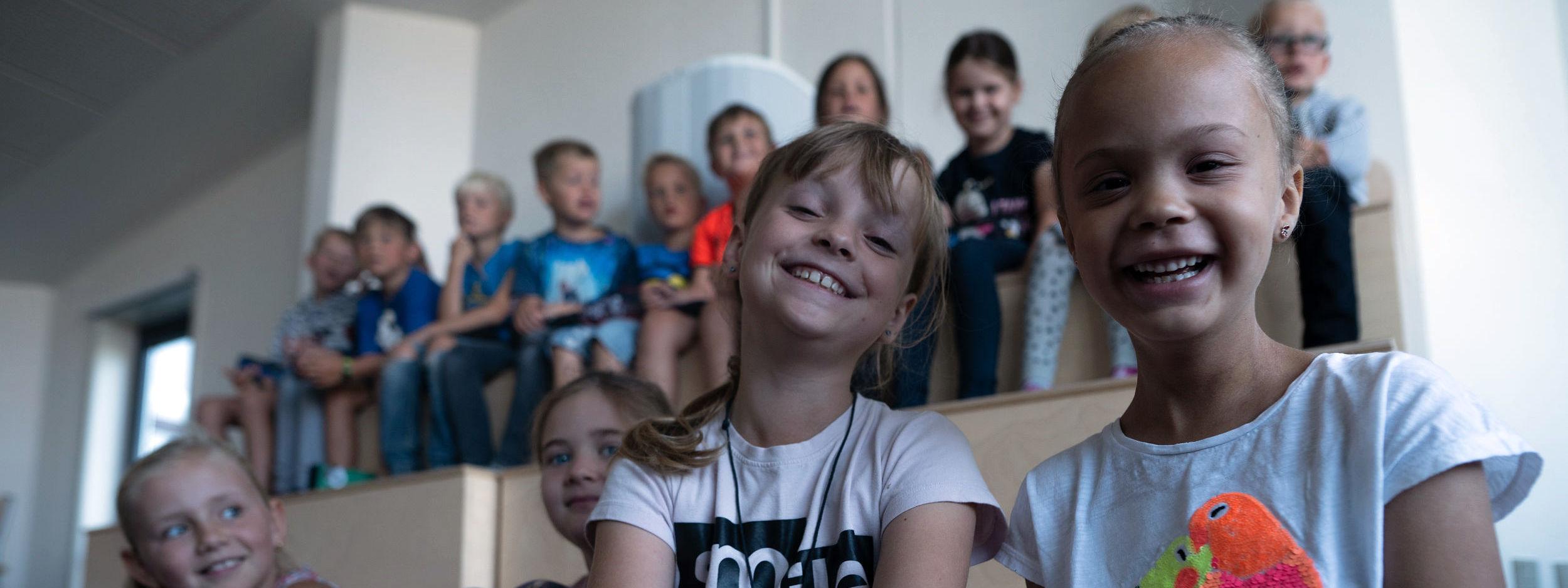 Smilende Børn